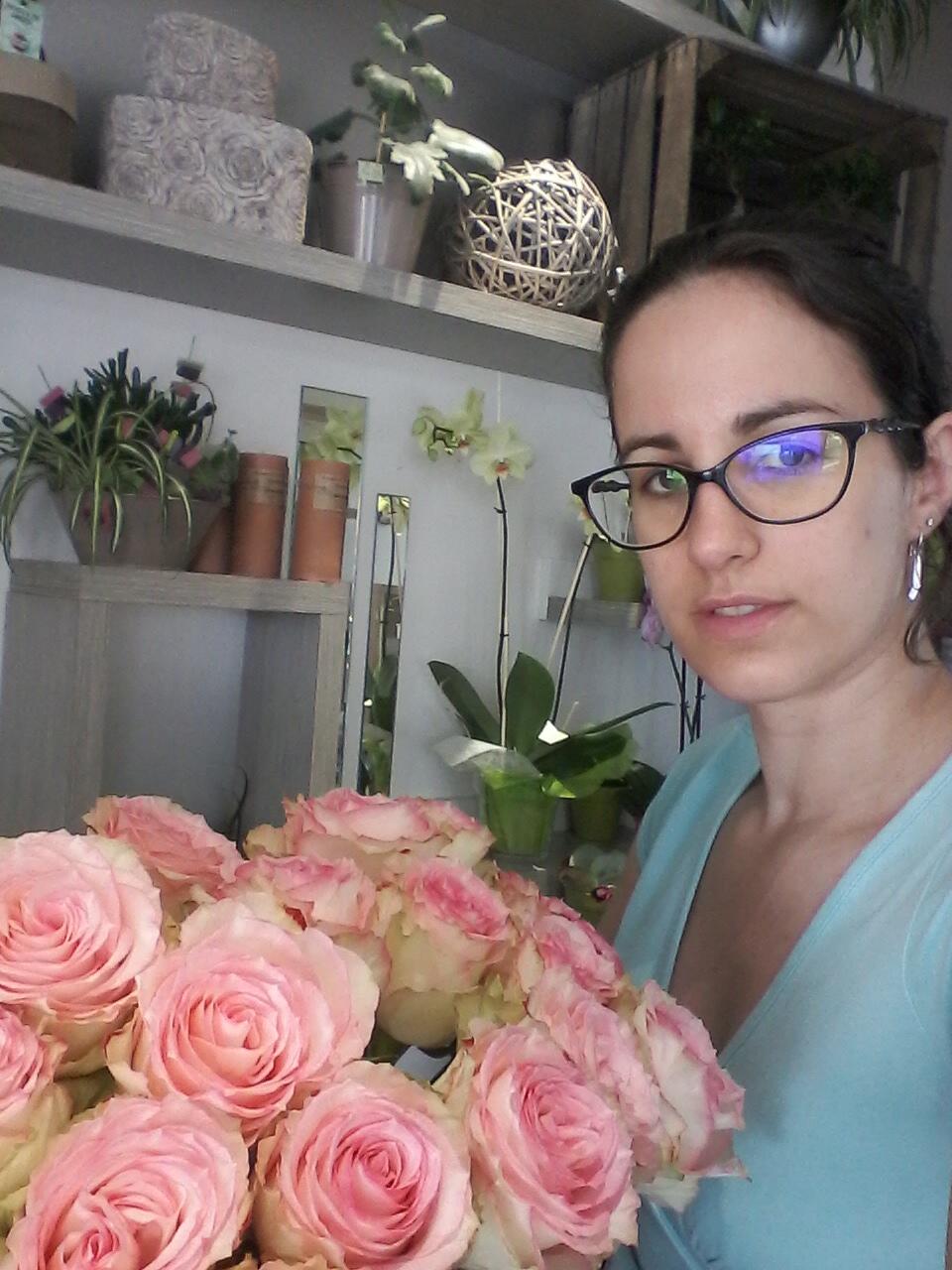 Audrey pour brindilles fleuriste bannalec 29380 for Fleuristes et fleurs