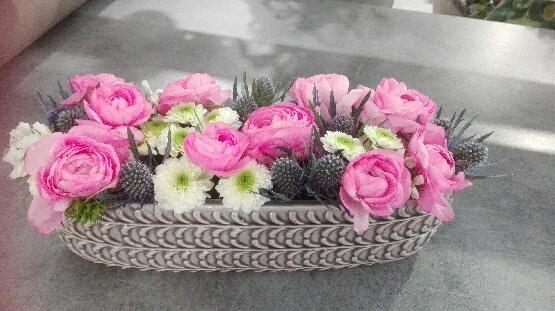 Composition florale en direct meilleur prix qualit fleuriste for Composition florale exterieur hiver