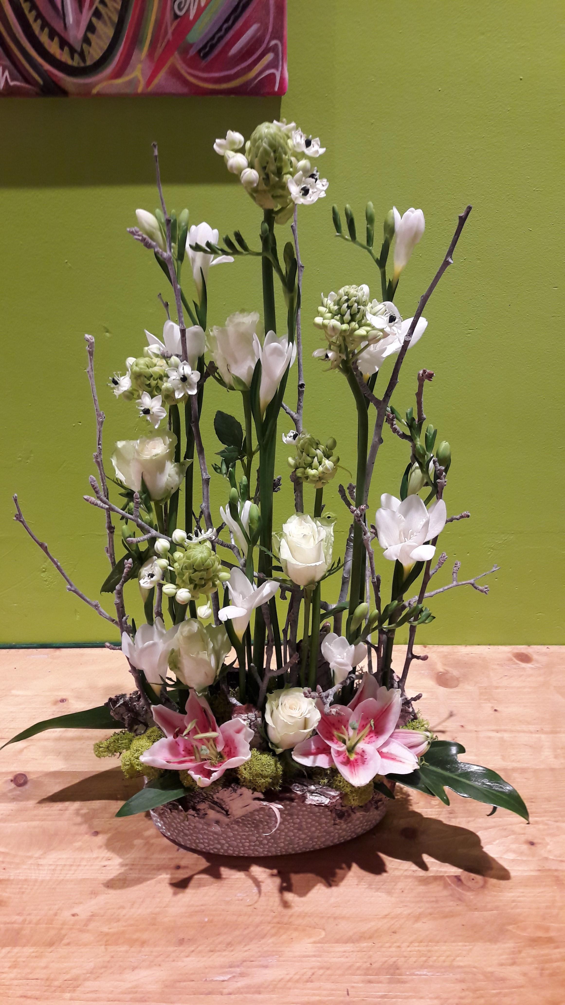 Composition de fleurs en direct meilleur prix qualit for Le prix des fleurs