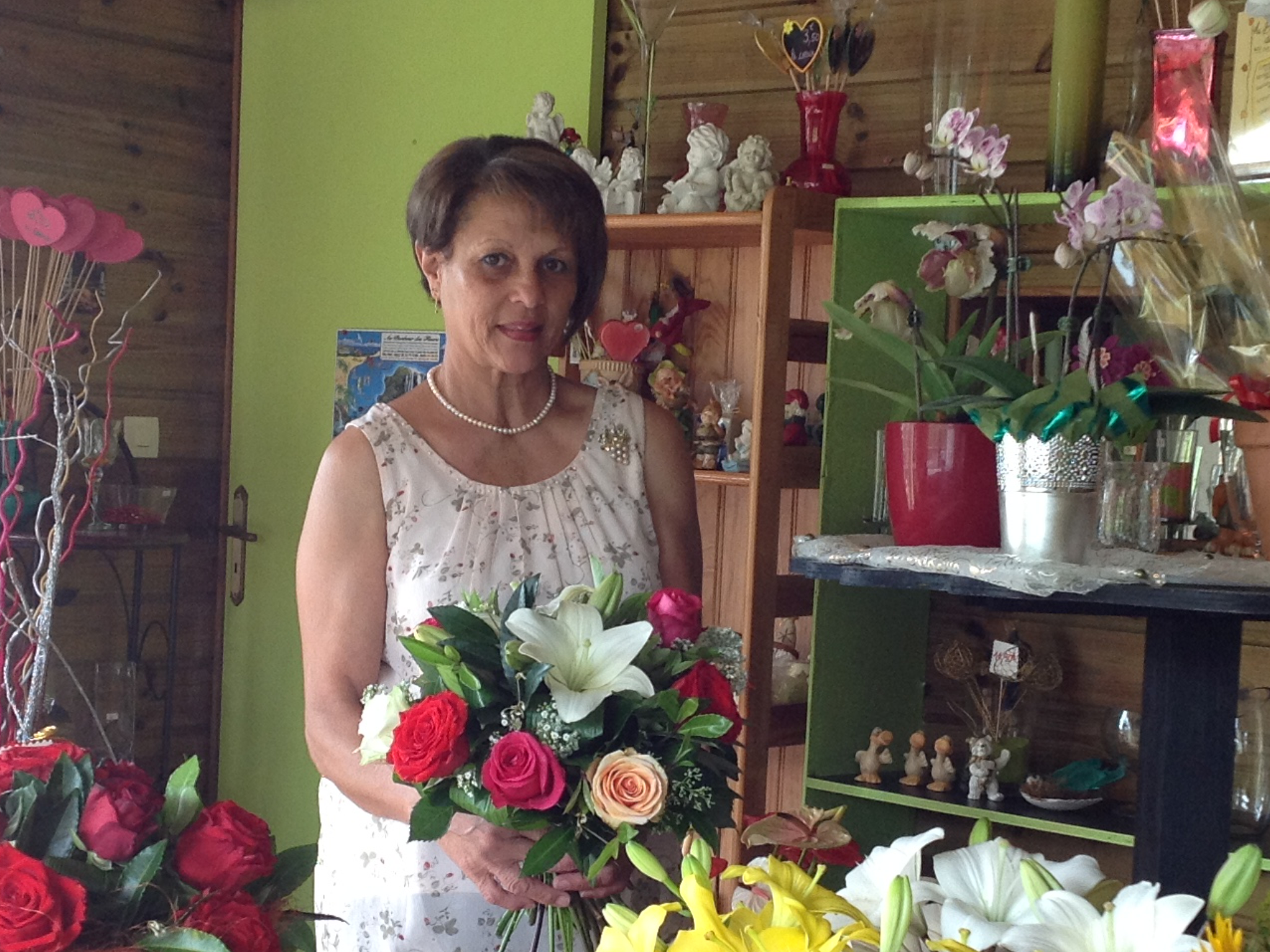 Au bonheur des fleurs fleuriste la plaine des palmistes for Fleuristes et fleurs