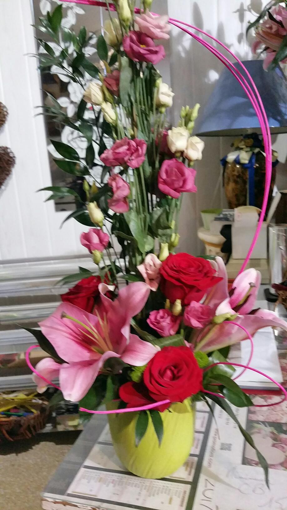 Composition florale en direct meilleur prix qualit fleuriste for Fleuristes et fleurs
