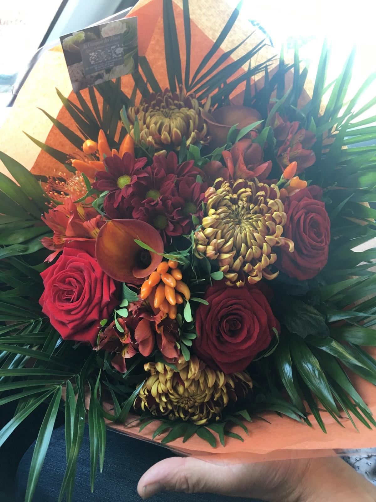 Cr ation florale en direct meilleur prix qualit fleuriste - Le comptoir des fleuristes ...