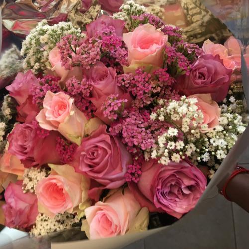 bqt rose (couleur au choix)